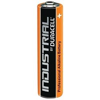 Duracell Industrial Alkaline Battery, 1.5V, AAA, Pack of 10