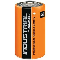 Duracell Industrial Alkaline Battery / 1.5V / D / Pack of 10