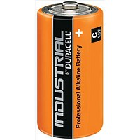 Duracell Industrial Alkaline Battery / 1.5V / C / Pack of 10