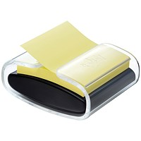Post-it Pro Z-Note Dispenser + One Pad, 76x76mm, Black