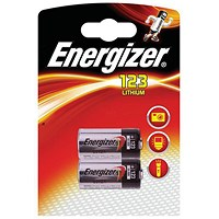 Energizer Lithium Batteries for Cameras - Pack of 2