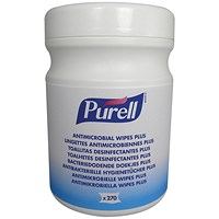 Purell Antimicrobial Wipes Canister - 270 Wipes