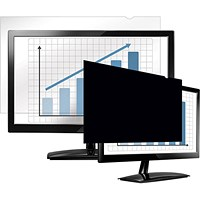 Fellowes Blackout Privacy Filter, 24 inch Widescreen, 16:10