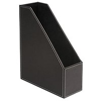 5 Star Magazine File - Brown Faux Leather