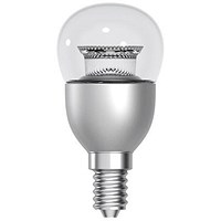 Tungsram Bulb LED E14 Globe Crown Deco 6W 40W Equivalent EEC A+ Energy Smart Dimmable Clear