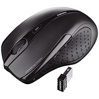 Cherry MW 3000 Five-Button Wireless Mouse, 2.4GHz, Optical, 5m Range, Black