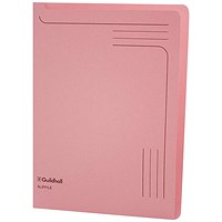 Guildhall A4 Slipfile, Pink, Pack of 50
