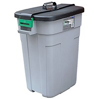 Dustbin, Easy Grip Handle, 90 Litre
