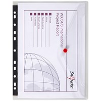 Snopake A4 PolyFiles Ring Binder Wallets - Pack of 5