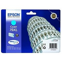 Epson 79XL High Yield Cyan Inkjet Cartridge