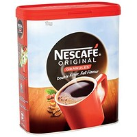 Nescafe Original Instant Coffee Granules - 1kg Tin