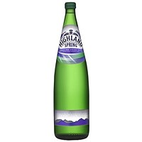 Highland Spring Sparkling Mineral Water - 12 x 1 Litre Glass Bottles