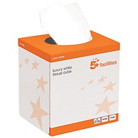 5 Star Facial Tissues, 2-Ply, 24 Cubes of 70 Sheets