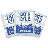 Tate & Lyle White Sugar Sachets - Pack of 1000