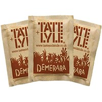 Tate & Lyle Brown Sugar Sachets - Pack of 1000