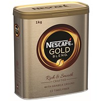 Nescafe Gold Blend Coffee - 1kg Tin