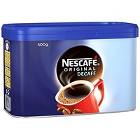 Nescafe Original Decaffeinated Coffee - 500g Tin