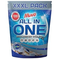 Muvo Original Dishwasher Tablets - Pack of 100