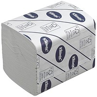 Kleenex Bulk Pack Folded Toilet Tissue, White, 2-Ply, 260 Sheets per Sleeve, 27 Packs