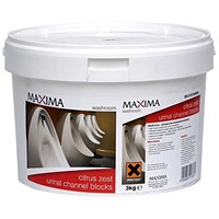 Maxima Urinal Blocks - 3kg Tub