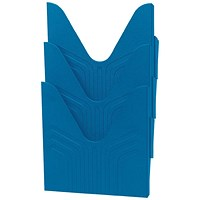 Avery Mainline Display File, A4, Blue, Pack of 3