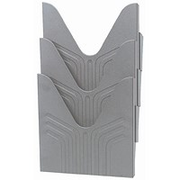 Avery Mainline Display File, A4, Grey, Pack of 3