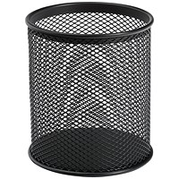 5 Star Pencil Holder Wire Mesh - Black