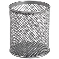 5 Star Pencil Holder Wire Mesh - Silver