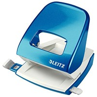 Leitz NeXXt WOW Hole Punch, Blue, Punch capacity: 30 Sheets