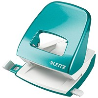 Leitz NeXXt WOW Hole Punch, Ice Blue, Punch capacity: 30 Sheets