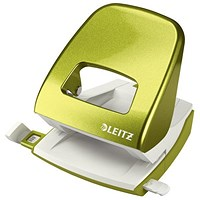 Leitz NeXXt WOW Hole Punch, Green, Punch capacity: 30 Sheets
