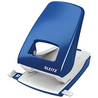 Leitz NeXXt Hole Punch, Blue, Punch capacity: 40 Sheets
