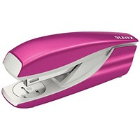 Leitz NeXXt WOW Stapler, 3mm, 30 Sheet Capacity, Pink
