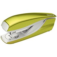 Leitz NeXXt WOW Stapler, 3mm, 30 Sheet Capacity, Green