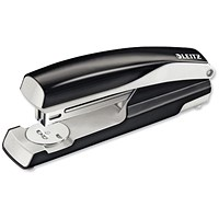 Leitz NeXXt Stapler, 4mm, 40 Sheet Capacity, Black