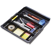 Exacompta Sliding Part Drawer Insert - Black