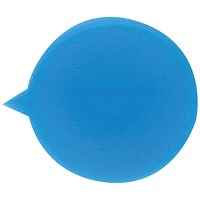 Security Seals - Plain Round, Blue, Pack of 500