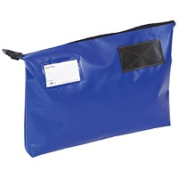 A3 Mailing Pouch with Gusset, 470 x 336 x 76mm, Blue