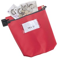 Medium Red Cash Bag