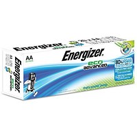 Energizer Eco Advance Batteries / AA / Pack of 20