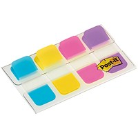 Post-it Strong Index Flags, 4x10mm, Pack of 40