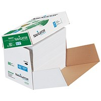 Navigator Universal A4 Paper, 80gsm, Fast Pack, 2500 sheets