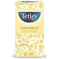 Tetley Camomile Smile Tea Bags - Pack of 25