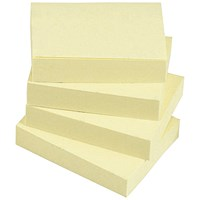 Everyday Sticky Notes, 38x51mm, Yellow, Pack of 12
