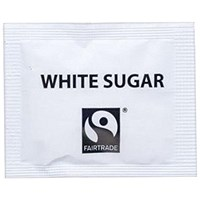 Fairtrade White Sugar Sachets - Pack of 1000