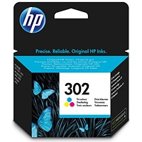 HP 302 Ink Cartridge Tri Colour