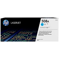 HP 508A Cyan LaserJet Toner Cartridge