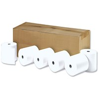 Thermal Printer Rolls / WxDxCore: 112x29x12.7mm / 1-Ply / Pack of 10