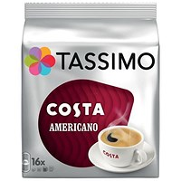 Tassimo Costa Americano - Pack of 5