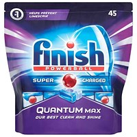 Finish Quantum Max Dishwasher Tablets - Pack of 45